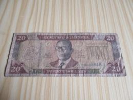 Liberia.Billet 20 Dollars Tubman 2009; - Liberia