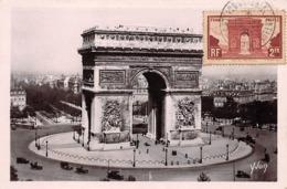 75008 - N°150794 - Paris 8e - L'arc Ce Triomphe Et La Place De L'étoile - Carte Maximum - District 08