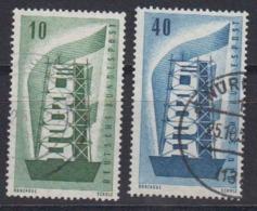 Europa Cept 1956 Germany 2v Used (44619C) - Europa-CEPT
