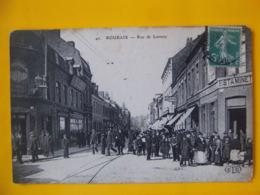 Cpa  Roubaix 59 Rue De Lannoy Estaminet Animation - Roubaix