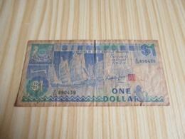 Singapour.Billet 1 Dollar. - Singapore