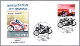 Motos Ganadoras - MOTOS DERBY 80 Cc. SPD/FDC Madrid 2015 - Motos