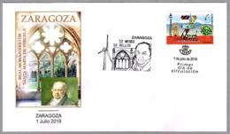 12 MESES - 12 SELLOS - ZARAGOZA - GOYA - Monasterio De Veruela. SPD/FDC Zaragoza, Aragon, 2019 - Arte