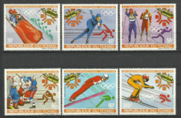 CHAD TCHAD SARAJEVO  1984  OLYMPIC GAMES SET MNH - Winter 1984: Sarajevo
