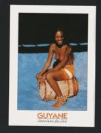 Guyane CPM Femme Seins Nus Joueuse De Tambour (nv21) - Unclassified