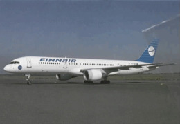 Finnair Airlines B-757 OH-LBR Aereo Airways Airplane Finlandia - 1946-....: Era Moderna