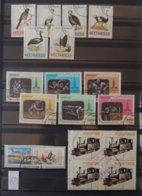 Lot Du Mozambique - Insectes - Coquillages - Bus Et Car - Oiseaux - Sport Etc - Stamps
