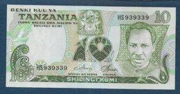 TANZANIE -    Billet 10 Shilinci - Tanzanie