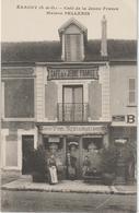 Val  D ' Oise :  ERAGNY :  Café De La  Jeune France , Maison  Pellerin - Eragny