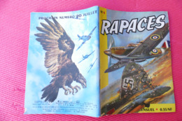 RAPACES  N°4 MENSUEL ANNEE 1961 ***** BHR 027X - Magazines