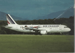 Air France Airlines A320 F-GFKO Aereo Airways AirFrance Airplane At GVA - 1946-....: Era Moderna