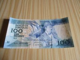 Portugal.Billet 100 Escudos 03/12/1987. - Portugal