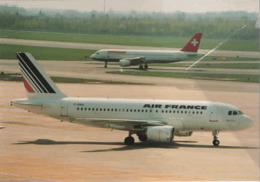 Air France Airlines A319 F-GRHL Aereo Airways AirFrance Airplane Swissair - 1946-....: Era Moderna