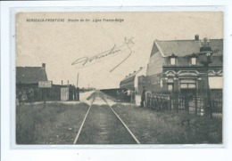 Herseaux Fontière Broche De Fer Ligne Franco Belge - Mouscron - Moeskroen