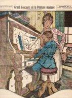 """Supplément Gratuit Au N° 119 De """"LISETTE"""" 1923 / GRAND CONCOURS DE LA PEINTURE MAGIQUE / Dessin N°5 - Livres, BD, Revues"""