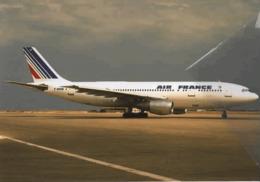 Air France Airlines A300 F-BVGB Aereo Airways AirFrance Airplane Swissair - 1946-....: Era Moderna
