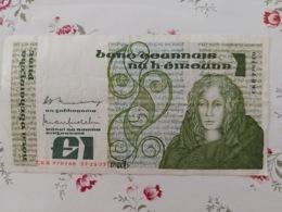 1 Livre Irlande 17/11/1977 - Irlanda