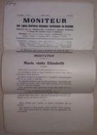 Vieux Journal Moniteur Des Ligues Ouvrières Féminines Chrétiennes De Belgique - Mai 1933 - Livres, BD, Revues