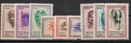 Cote D'Ivoire - 1960 - N°Yv.  181 à 189 - Masques  - Neuf Luxe ** / MNH / Postfrisch - Côte D'Ivoire (1960-...)
