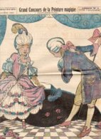 """Supplément Gratuit Au N° 118 De """"LISETTE"""" 1923 / GRAND CONCOURS DE LA PEINTURE MAGIQUE / Dessin N°2 - Livres, BD, Revues"""