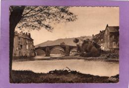 12 ESPALION Le Vieux Pont Et Les Bords Du Lot - Espalion