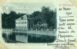 St PETERSBOURG  -  PRECURSOR POSTCARD - LOT De 4 CPA  De 1900  - - Russie