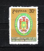 Filippine  -  1980. Stemma Della Università Far Eastern. Far Eastern University Coat Of Arms. MNH - Francobolli