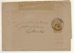 Ceylon Newspaper Wrapper H&G 4 - Ceylon (...-1947)