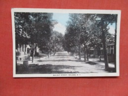 Walnut Street  Walden  Card Has Ripple  New York        Ref   3600 - NY - New York