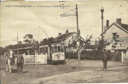 62  PONT DE BRIQUES - TRAMWAY D' HARDELOT (carte Froissée) (ref 5885) - France