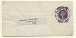 Ceylon Newspaper Wrapper H&G 2 - Ceylon (...-1947)