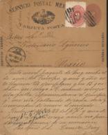 J) 1888 MEXICO, MEXICAN POSTAL SERVICE, NUMERAL, 2 CENTS, 3 CENTS, EAGLE, URBAN SERVICE, POSTAL STATIONARY, POSTCARD, CI - Mexico
