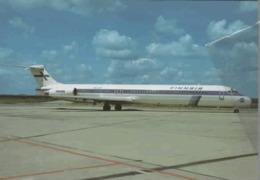 Finnair Airlines MD-82  OH-LMT Aereo Airways At PRG  Airplane Finlandia - 1946-....: Era Moderna