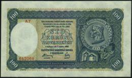SLOVAKIA - 100 Korun 07.10.1940 {II. Emisia ~ 2nd Edition} UNC  P.11 - Slowakije