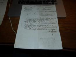 FF6  Document Commercial Facture Tannerie Et Courroirie Monseur Sellerie Arbres Lez Ath Gare De Maffles 1906 - Belgio
