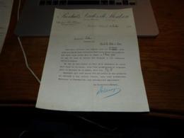 FF6  Document Commercial Facture Produits Lactés De Montzen 1906 Docteur Licops - 1900 – 1949