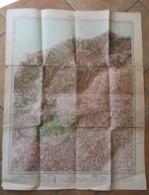 Carte Topographique IGN 1:50000 ALGERIE 1957 Fromentin Cavaignac - Cartes Topographiques