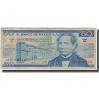 Billet, Mexique, 50 Pesos, 1973-07-18, KM:65a, B+ - Mexico