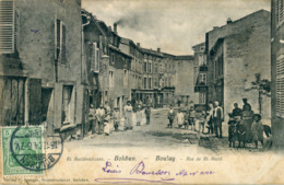 57 - Boulay / Bolchen : Rue De Saint Avold - Boulay Moselle