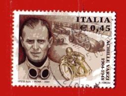 Italia ° - Anno -2004 - ACHILLE VARZI.  Unif. 2807.  Usato - 2001-10: Usados