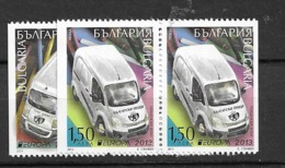 2013 MNH Bulgaria From Booklet Postfris** - 2013