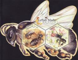 Malaysia 2019  MS MNH Honey Bees Abeille Abeilles Bee - Honeybees