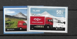 2013 MNH Iceland, From Booklets Postfris** - 2013