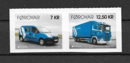 2013 MNH Faeroer, From Booklets Postfris** - 2012