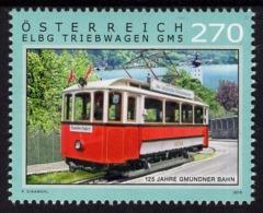 Austria - 2019 - 125 Years Of Gmunden Tramway - Mint Stamp - 2011-.... Ongebruikt