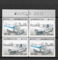 2013 MNH Azerbeijan From Booklets Postfris** - Europa-CEPT