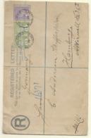 Ceylon QV Registered Envelope H&G 11, Size H, Color T2 - Ceylan (...-1947)