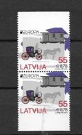 2013 MNH Latvia From Booklets Postfris** - 2012