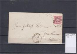 NDP (XX) Michel Kat.Nr. GA U1 Gest - Norddeutscher Postbezirk