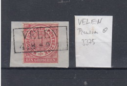 """NDP (XX) Michel Kat.Nr. Stempel Preussen """"Velen"""" - Norddeutscher Postbezirk"""
